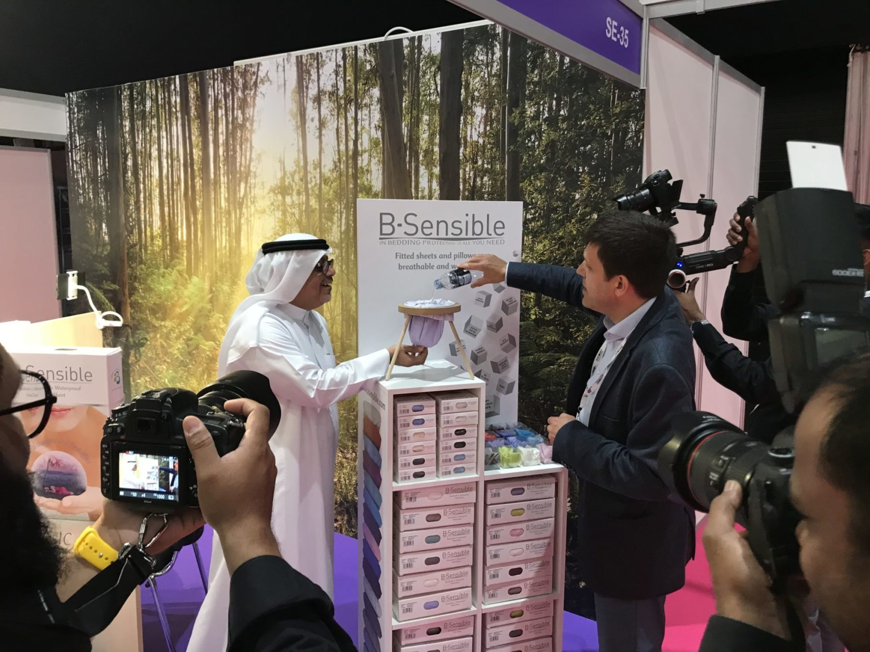 BSensible en la Feria Sleep Expo Middle East